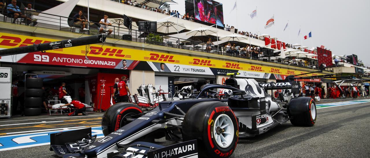 Horario y dónde ver la carrera del GP de Francia