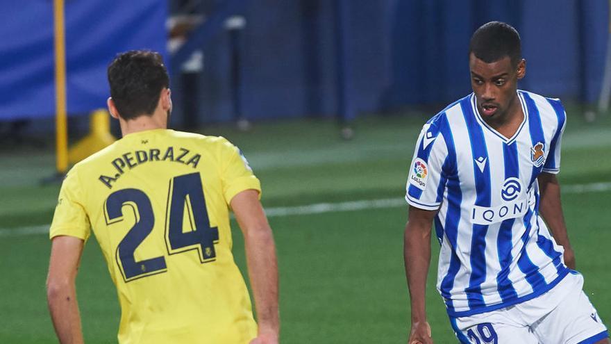 La Real Sociedad empata al Villarreal en el descuento