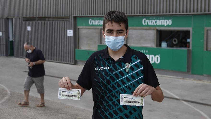 El Córdoba CF reparte 1.000 entradas para el partido ante el Marbella