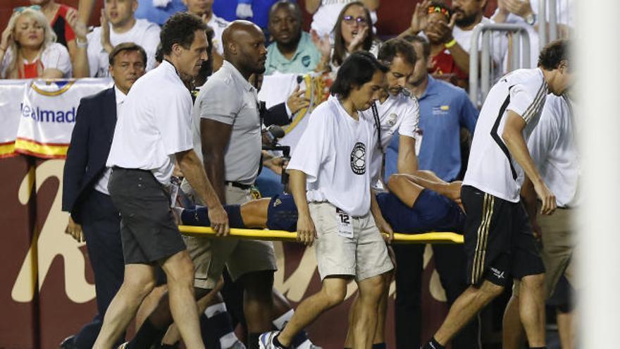 Grave lesión de Asensio en el amistoso del Madrid