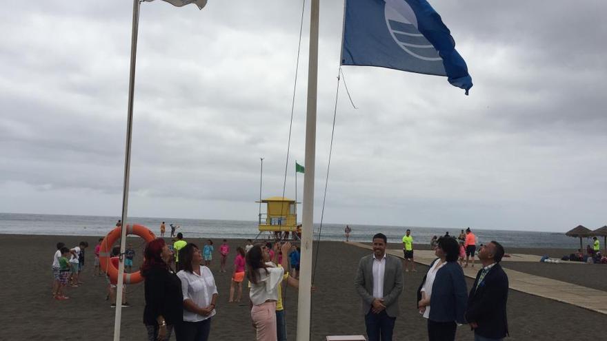 Melenara, La Garita, Salinetas y Hoya del pozo repiten la bandera azul