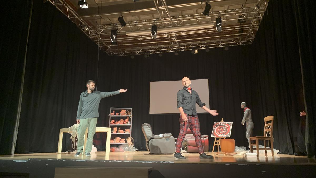 La primera representación de la Semana del Teatro.