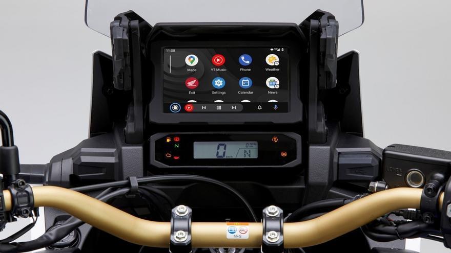 La Honda CRF1100L Africa Twin integrará el sistema Android Auto