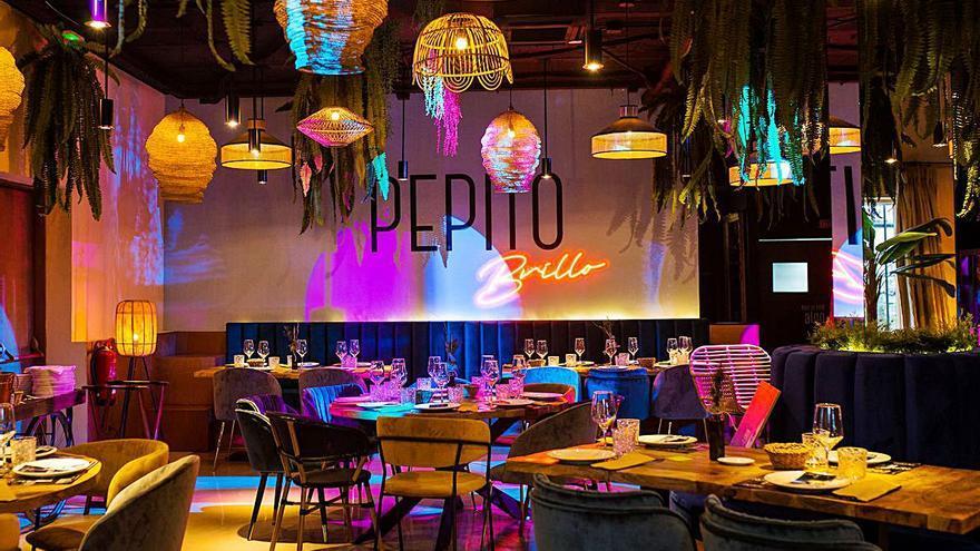 Pepito Brillo, restaurant & show, con la música de todos los tiempos