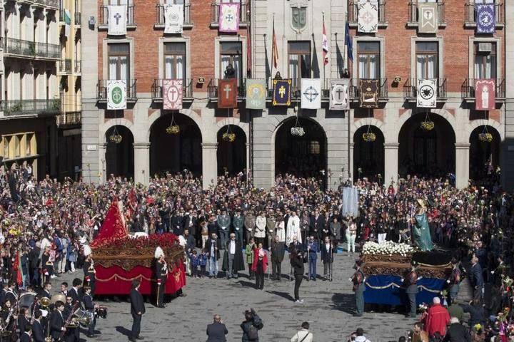 Procesión de la Santísima Resurrección en Zamora
