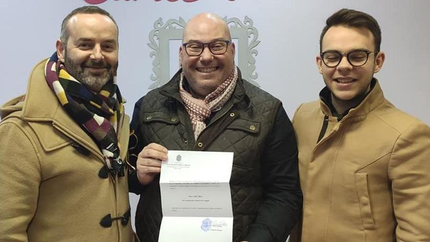 Un nombramiento muy especial para el peluquero Carles Ruiz