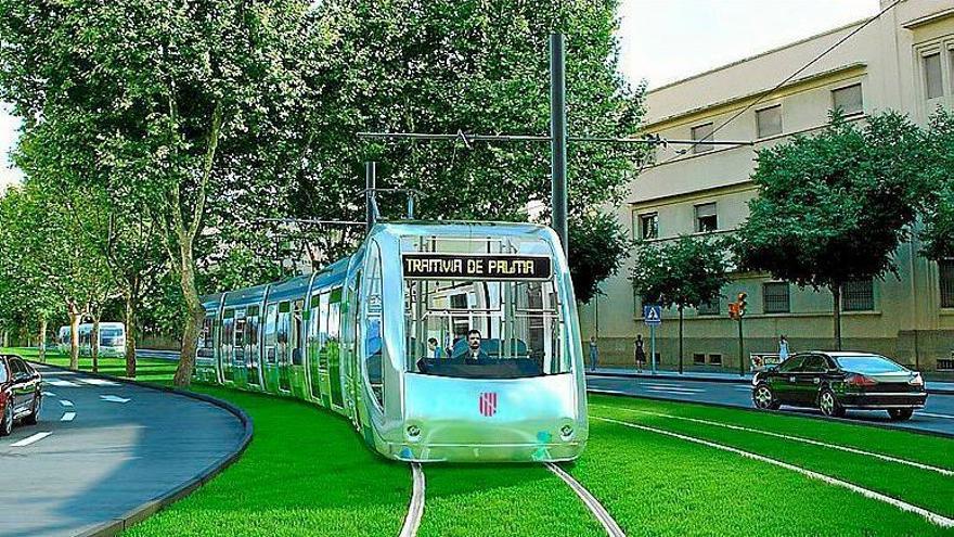 El Gobierno incluye el tranvía de Palma en el plan de proyectos estratégicos aprobado por Europa