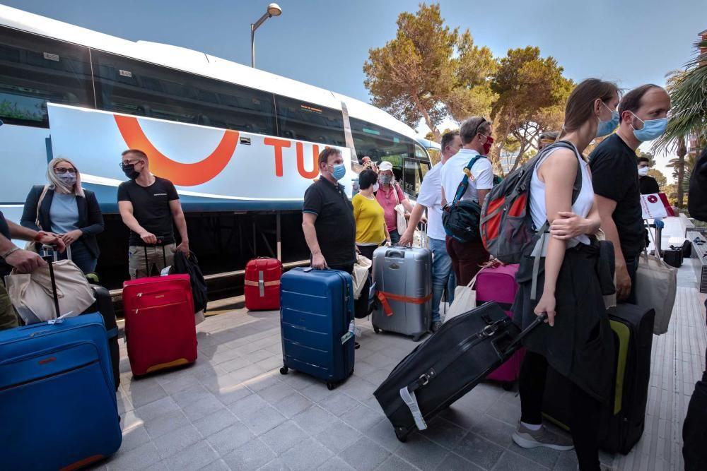 So genießen die ersten Post-Corona-Touristen Mallorca