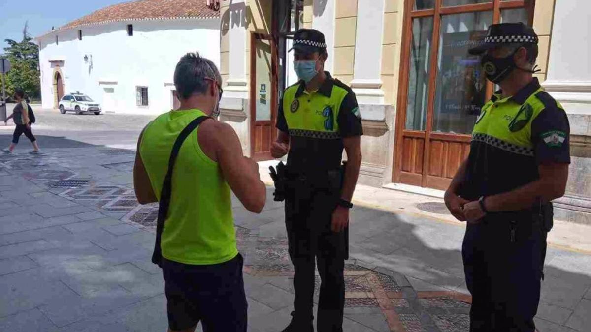 Policía Local de Ronda en una imagen de archivo.