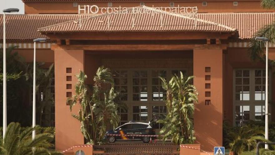 Aisladas mil personas en un hotel de Tenerife