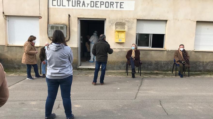 Comienzan los cribados masivos en Arcos de la Polvorosa y San Cristóbal de Entreviñas