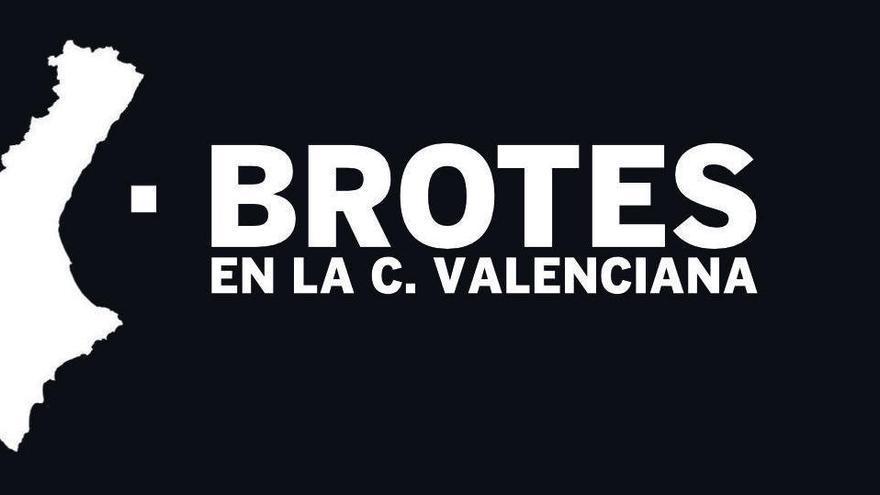 BROTES | Los 71 brotes valencianos, municipio por municipio