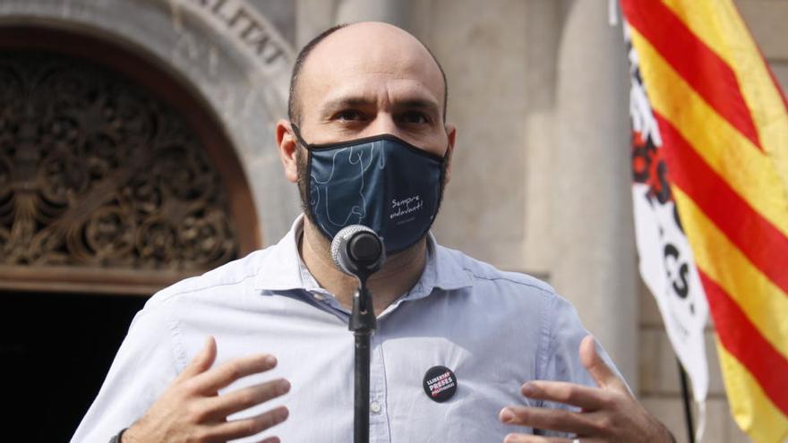 Òmnium i els promotors de la tancada a Montserrat reivindiquen l'amnistia