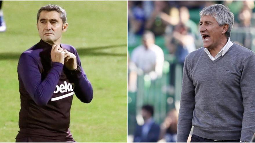 Quique Setién, substitut d'Ernesto Valverde com a entrenador del Barça