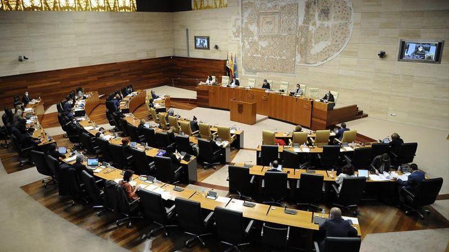 Siga en directo el pleno de la Asamblea de Extremadura