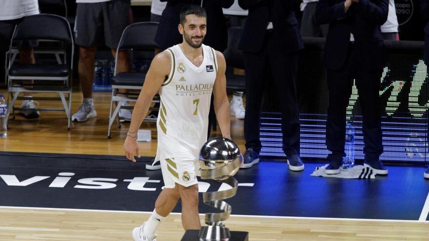 Facundo Campazzo, MVP de la Supercopa Endesa