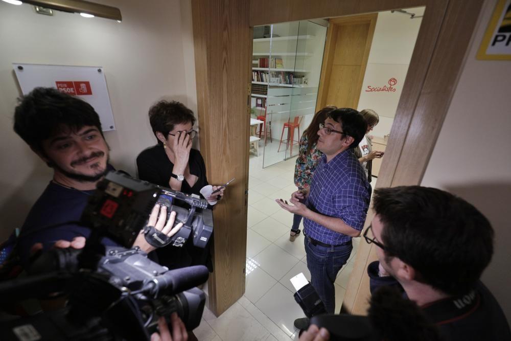El PSOE de Baleares celebra su victoria electoral