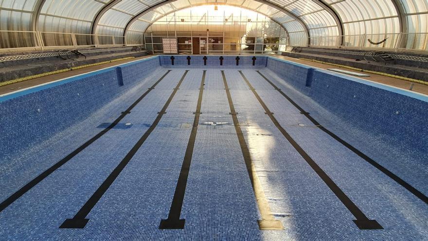 La piscina climatizada de Benavente sí podrá abrirse al público con reducción de aforo al 33%