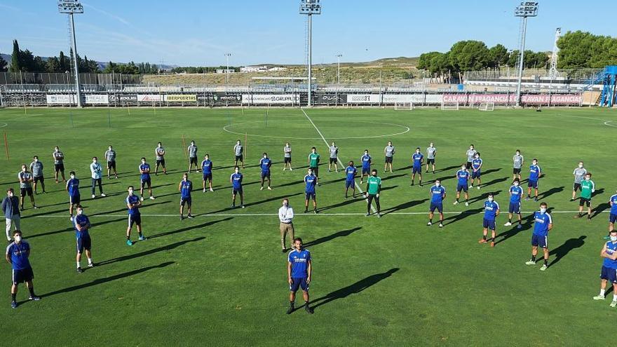 El Zaragoza pide al CSD la suspensión del 'play off'