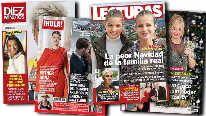 Asturias, escenario navideño de la Princesa Leonor y la Infanta Sofía