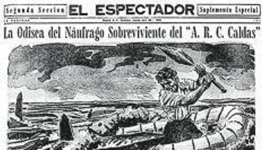 El periodista y el náufrago