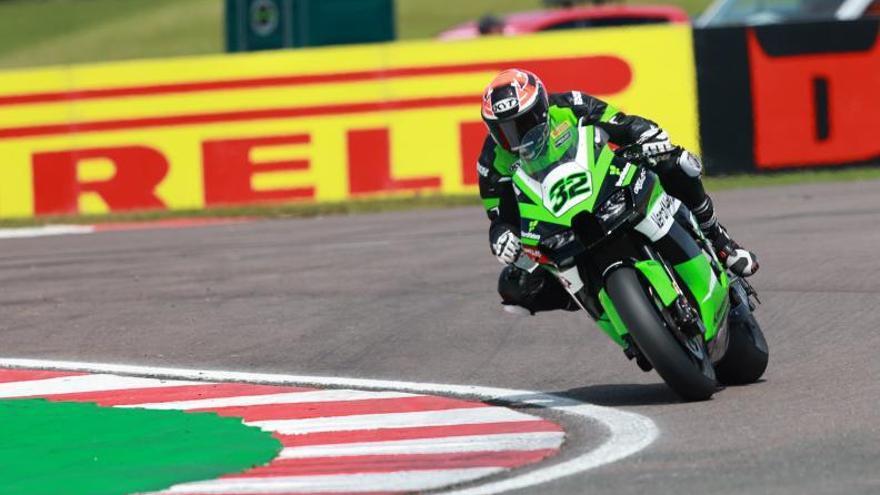 Viñales vuelve a sumar para el Orelac Racing de Algemesí en el circuito de Donington Park