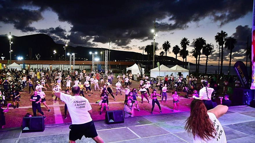 La Plaza de la Música baila con la Semana Europea del Deporte