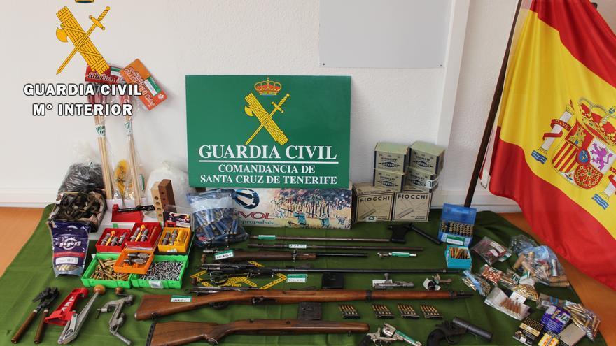 Detenido en Tenerife por vender armas que compraba por piezas en internet