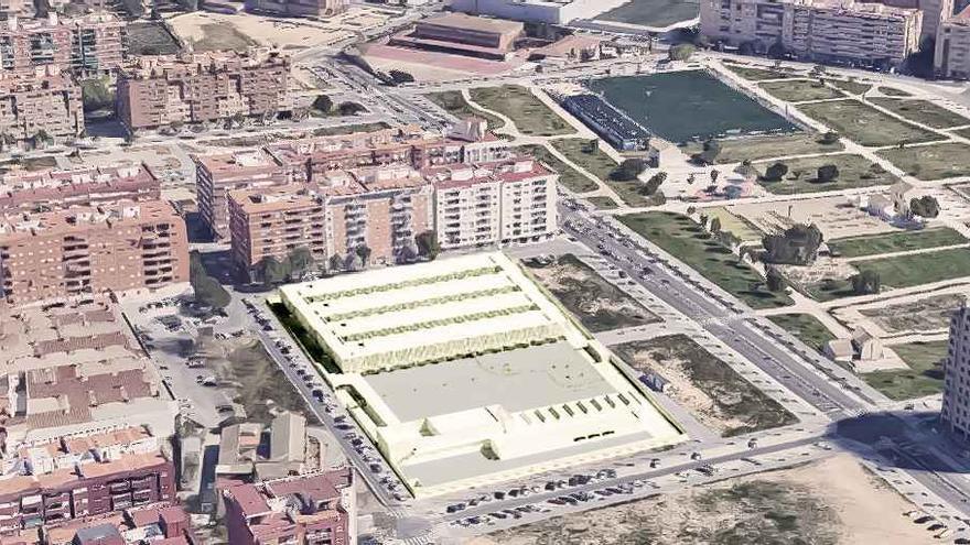 El nuevo colegio público de Malilla inicia su camino