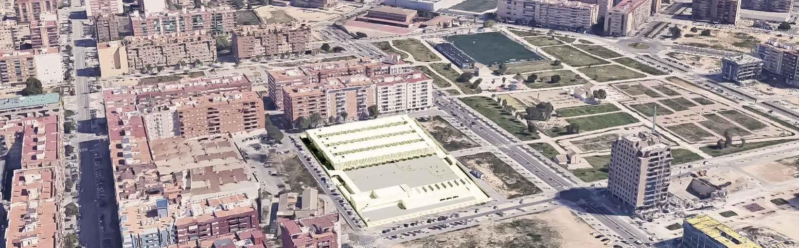 Así será el nuevo colegio público de Malilla