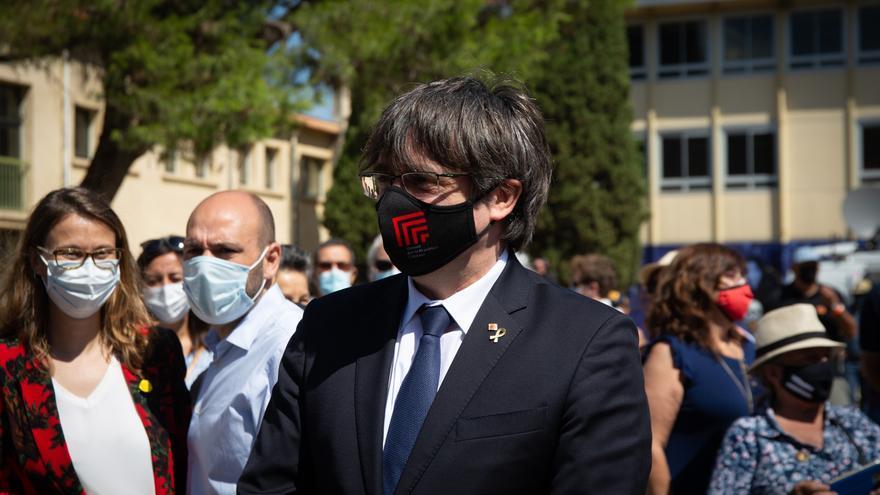 Carles Puigdemont, detenido en Cerdeña