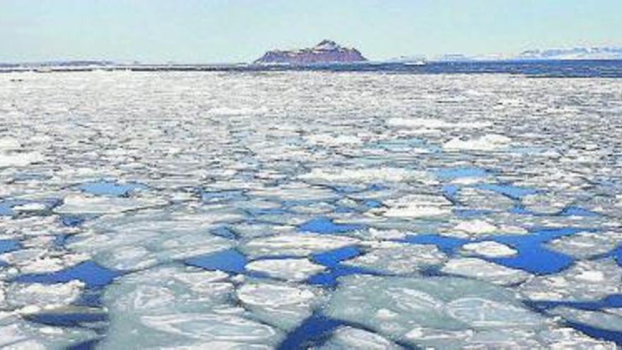 Un pol nord sense gel?