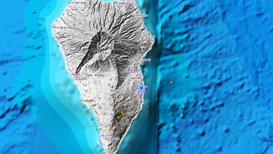 La Palma registra siete nuevos terremotos de mayor magnitud