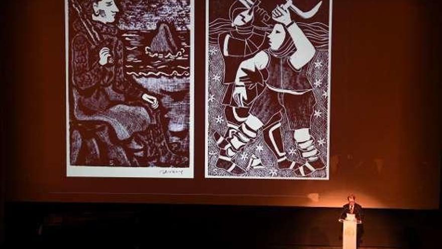 A Real Academia de Belas Artes homenaxea na Coruña a Luis Seoane, o creador de formas
