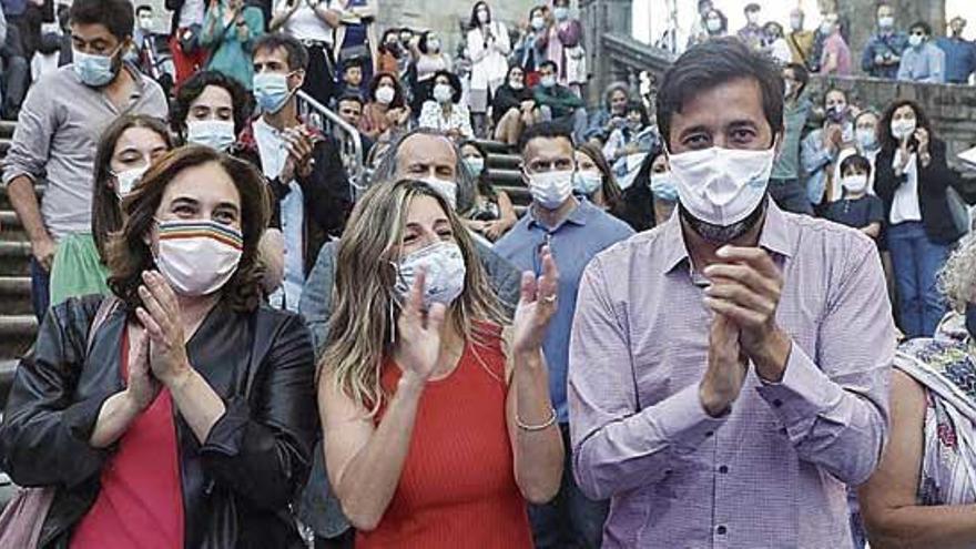 """Gómez-Reino apela al espíritu de Nunca Máis y a la """"llama"""" del municipalismo"""