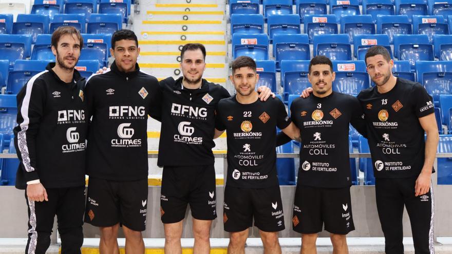 El Palma Futsal bate récord de internacionales