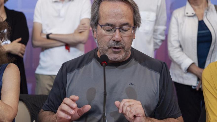 """El representante de Ciudadanos en la Junta Electoral denuncia a Guarido por sus comentarios sobre """"parar a los fachas"""""""