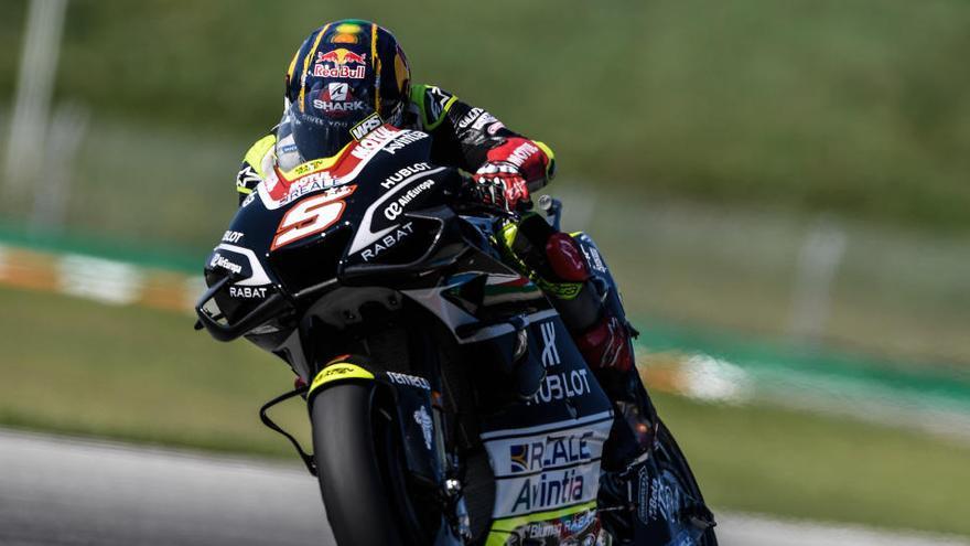 Johann Zarco destrona a Quartararo y saldrá desde la 'pole' en MotoGP