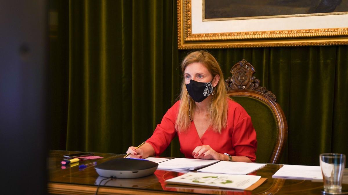 La alcaldesa de Castelló, Amparo Marco, presidió ayer el Consejo Social de la Ciudad.