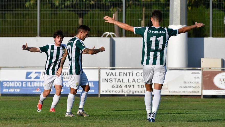 El Peralada supera el Llagostera (2-0) en l'estrena al Municipal