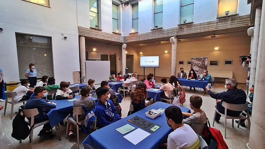 El aula didáctica  ya estimula el conocimiento en el museo Fuster