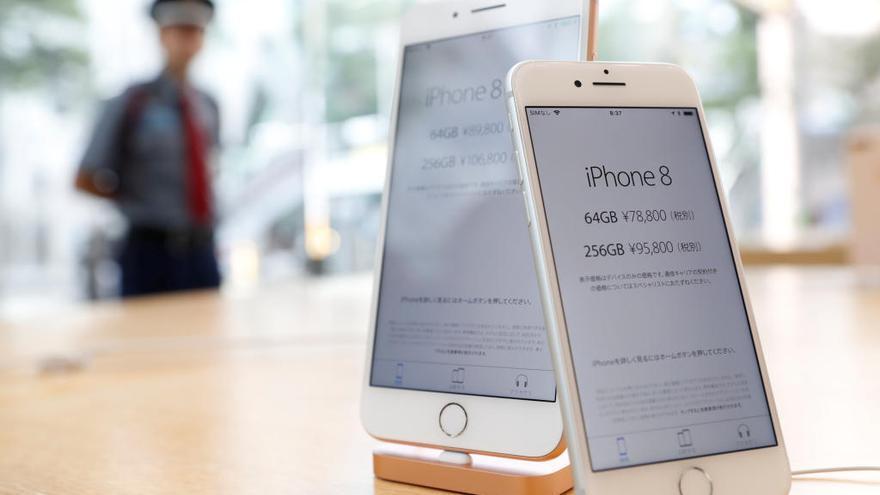 Es posen a la venda els nous iPhone 8 i 8 Plus