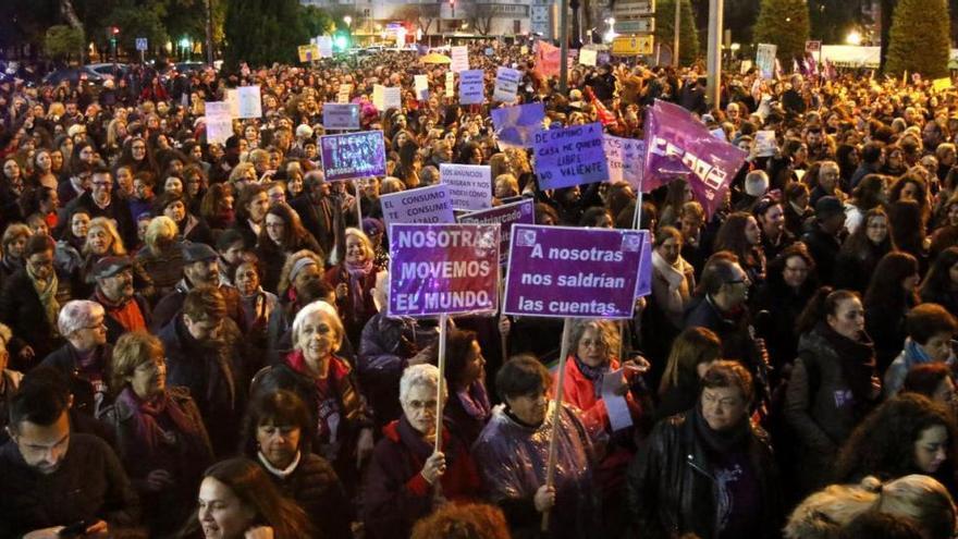 Una huelga feminista con casi 6 millones de apoyos