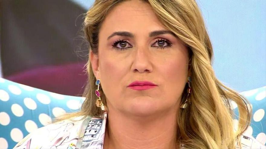 """Carlota Corredera, en guerra con Kiko Matamoros: """"Yo no soy su problema, no soy Rocío Carrasco"""""""