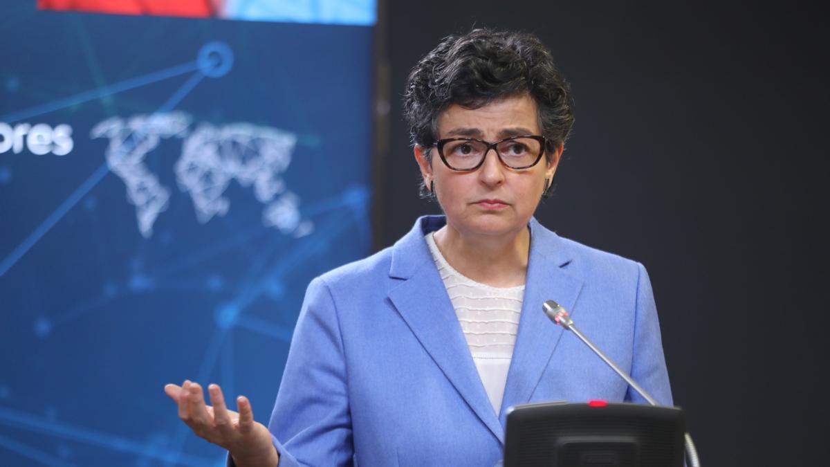 La ministra de Asuntos Exteriores, UE y Cooperación, Arancha González Laya.