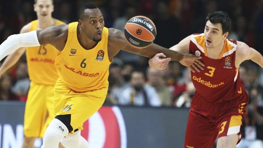 El Barcelona cae ante el Galatasaray en Estambul