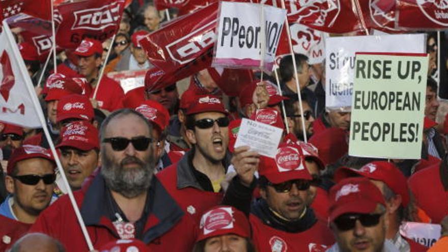 Miles de ciudadanos claman contra las políticas de recortes