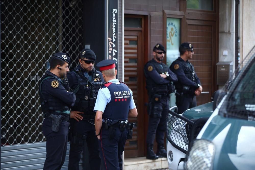 Nou independentistes detinguts per la Guàrdia Civil acusats de planejar accions violentes