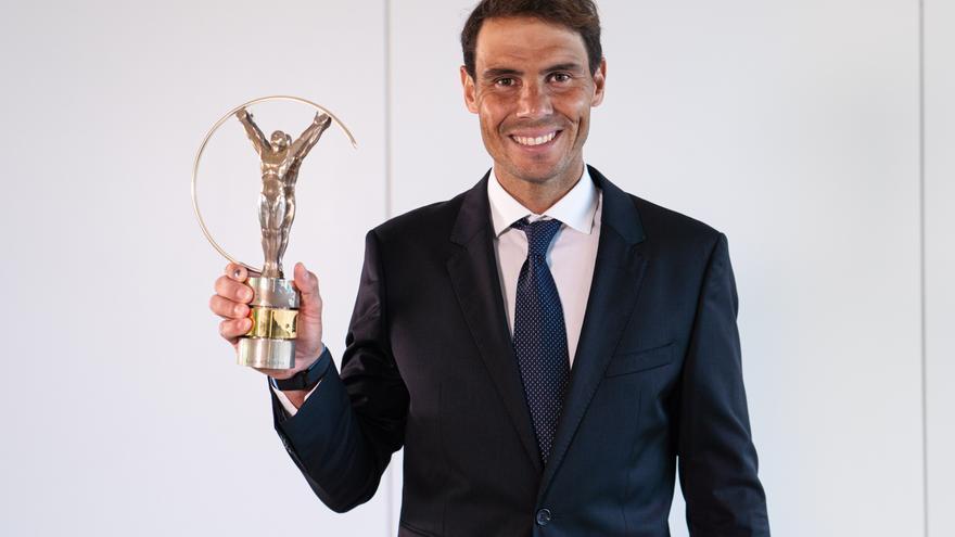 Rafa Nadal conquista el Premio Laureus