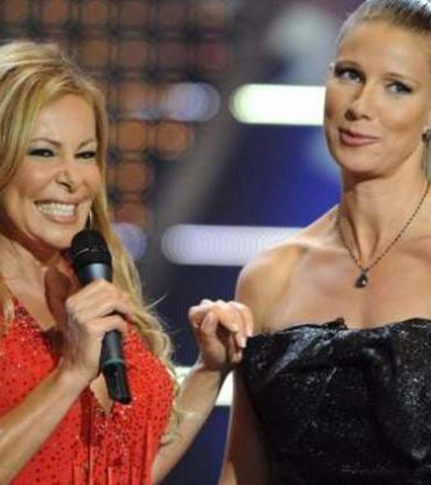 Una emocionada Ana Obregón reaparece en TV